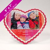Heart-Shaped Personalized Photo Puzzle