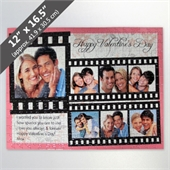Photo Reel Jigsaw Puzzle Personalized with 7 Photos