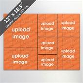 Custom 7 Picture Photo Collage Puzzle