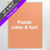 Double-Sided Custom Puzzle for Puzzle Supplier