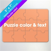 Design Own Two-Sided Puzzle for Corporate Gift