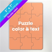 Design Own Two-Sided Puzzle for Gift