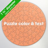 Circular Customized Puzzle
