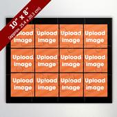 12 Image Custom Photo Puzzle