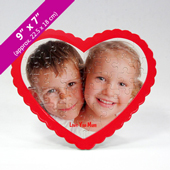 Personalized Heart-Shaped Photo Puzzle for Mother's Day
