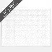Blank 12x16.5 inch Jigsaw Puzzle (285 Pieces)