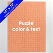 18x24 Inch High-Quality Custom Puzzle