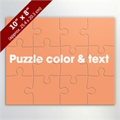 Custom 10x8 Inch Puzzle