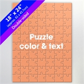 Make Double-Sided Puzzle 70 or 500-Piece for Corporate Gift