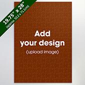 Custom Large Wooden Jigsaw 208 pieces