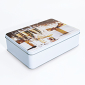 Custom Large Tin Box Fit For Puzzle Sizes 18