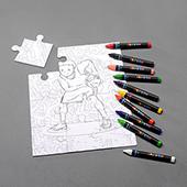 Custom 8x10 Inch Crayon Puzzle 12 Pieces_Landscape
