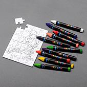 Mini Custom Coloring Puzzle 3.5x5 Inch_Portrait