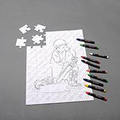 Make Unique Crayon Puzzle 12x16.5 Inch_Landscape