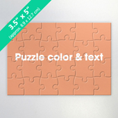 Custom 24-Pieces Invitation Puzzle