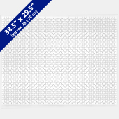 Huge Blank Puzzle 38.5 x 29.5 inch