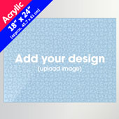 Custom 18x24 inch Acrylic Puzzle 500pcs