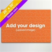 Custom Double-sided 20x30 Inch 100 Pieces Puzzle