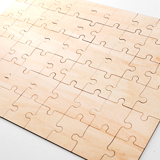 Blank 12x16 5 Wooden Jigsaw Puzzle