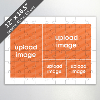 Custom 6 Picture Jigsaw Puzzle