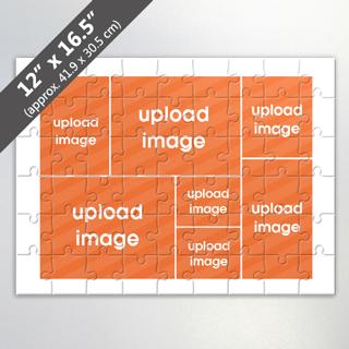 Custom 7-Image Jigsaw Puzzle
