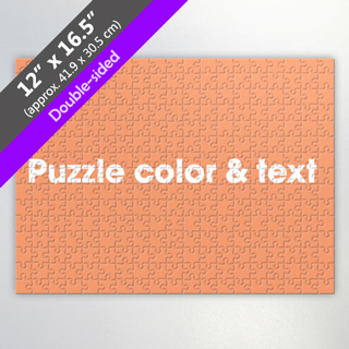 Double-Sided Custom Puzzle for Wholesale