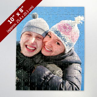 Personalized 100-Piece Photo Puzzle