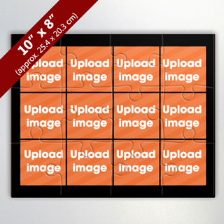 12 Image Custom Photo Puzzle