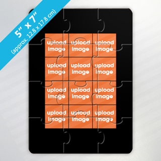 Design Own 6 Photo Puzzle With Border
