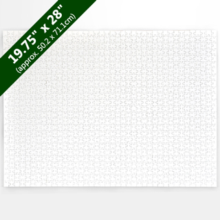 Large Blank Jigsaw Puzzle 1000 Pieces