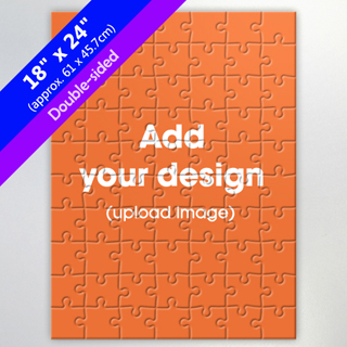 Design Your Own Double-Sided 18x24 Inch Puzzle for Retail