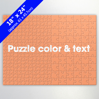 320 Piece Large Custom Puzzle With Two Different Sizes Of Pieces For Family
