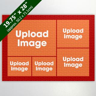 Orange Five Collage 19.75