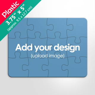 Personalized 4x5 Inches Plastic Puzzle 12 Pieces