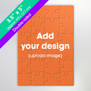 Two-Sided Personalized Small Jigsaw Puzzle