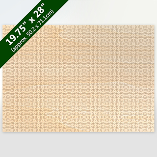Blank 19.75X28 Traditional Cut Wooden Puzzle 1000 Pieces