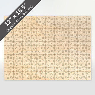 Blank 12x16.5 Wooden Jigsaw Puzzle 285 Pieces
