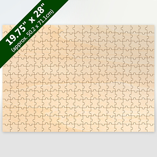 Blank Large Traditional Cut Wooden Puzzle 247 Pieces