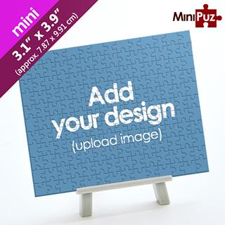 Custom Mini Piece Puzzle