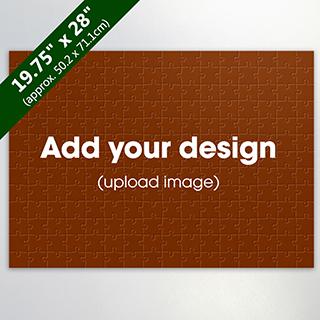 Large Custom Wooden Jigsaw Puzzle 208 Pieces Landscape