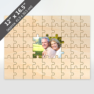 Custom Printed Middle Wooden Puzzle 49 Pieces