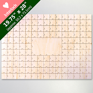 Blank 151 Heart Shaped Piece Large Party Guest Book