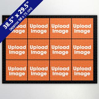 Black twelve collage 29.53x38.58 Inch