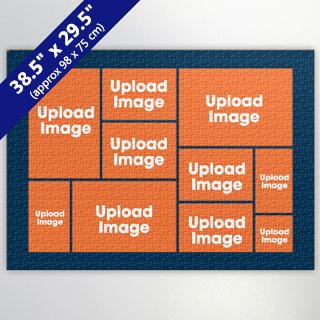 Navy ten collage 29.53x38.58 inch