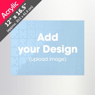 Custom Acrylic Puzzle (12 x 16.5 inch 54/285 pieces)