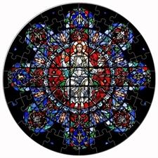 FPCE Rose Window 72-piece round