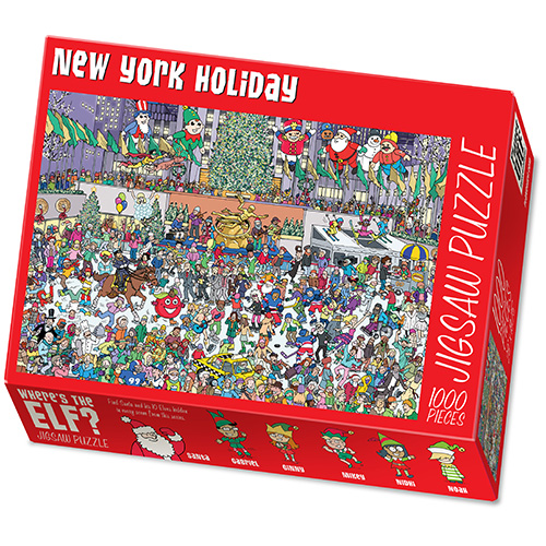 Make Your Own Large Puzzle with Image and Text