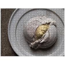 Corn Husk Meringue by Cosme