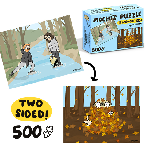 Two Sided Custom 70 Or 500 Piece Puzzle For Puzzle Designer