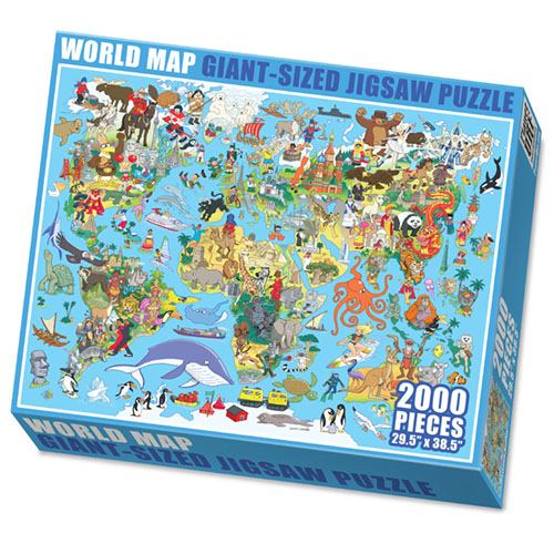 Make Your Own Giant Jigsaw Puzzle with 2000 Pieces